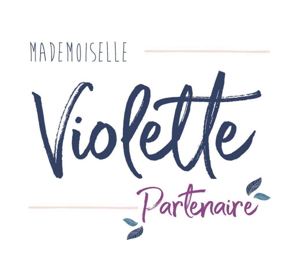 Aponi - logo partenaire - Mademoiselle violette